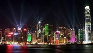 Victoria Harbour Light Show, Hong Kong