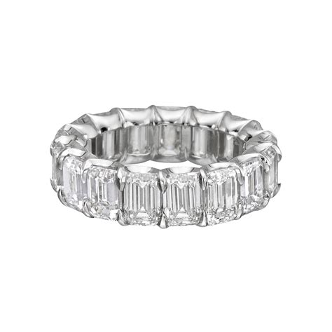 Betteridge Emeraldcut Diamond Eternity Band (12 Ct Tw. Safety Necklace. Jewelry Auctions. Lady Chains. Clasp Earrings. Diy Fabric Earrings. Anklet Fine Jewelry. 5 Stone Anniversary Band. Wide Gold Bracelet