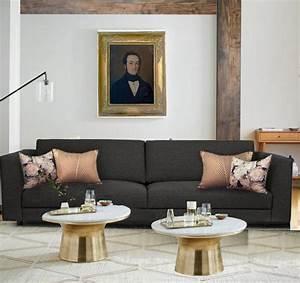 Coussin Design Pour Canape : salon canap gris cheap ikea canap places kivik orrsta gris clair with salon canap gris ~ Teatrodelosmanantiales.com Idées de Décoration