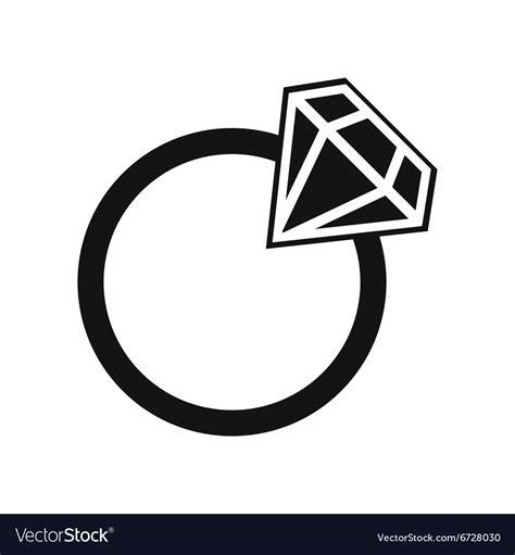 simple wedding ring royalty free vector image vectorstock
