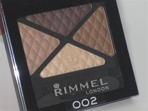 rimmel glam eyes quad eyeshadow review swatches