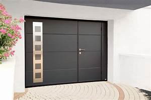 Porte Garage Sectionnelle Avec Portillon : porte de garage coulissante avec portillon ~ Melissatoandfro.com Idées de Décoration