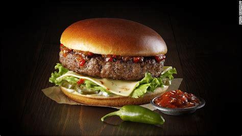 McDonald's tests gourmet burgers in UK