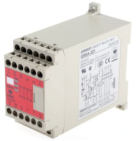 g9sa 301 24ac dc g9sa safety relay single or dual