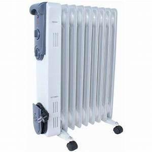 Radiateur Mobile Electrique : radiateur electrique puissant thermostat bain huil achat ~ Edinachiropracticcenter.com Idées de Décoration