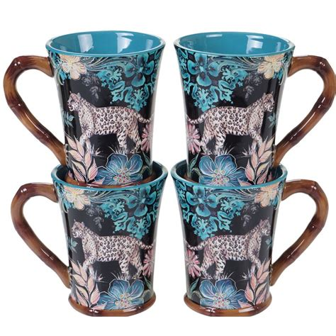 Their carpenter provided the great cedar which matches the tables inside. World Menagerie Bayle Exotic Jungle Coffee Mug & Reviews ...