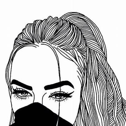 Drawing Eyes Outline Hair Getdrawings