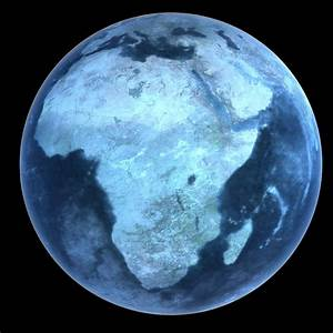 frozen planet earth c4d