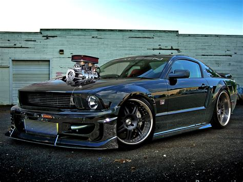mustang modified shelby mustang gt 500 custom modified cars