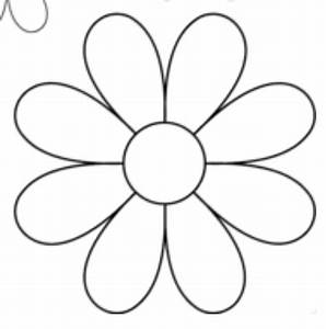 pin by roxana quesada salas on flores pinterest With daisy cut out template