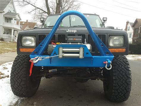 jeep stinger bumper elite shorty winch stinger front bumper jeep cherokee xj