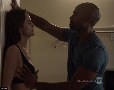 Michelle Dockery Strips Off For Sex Scene With Co Star