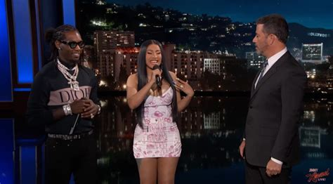 Jimmy Kimmel Translates Cardi B And Offset's 'clout' For