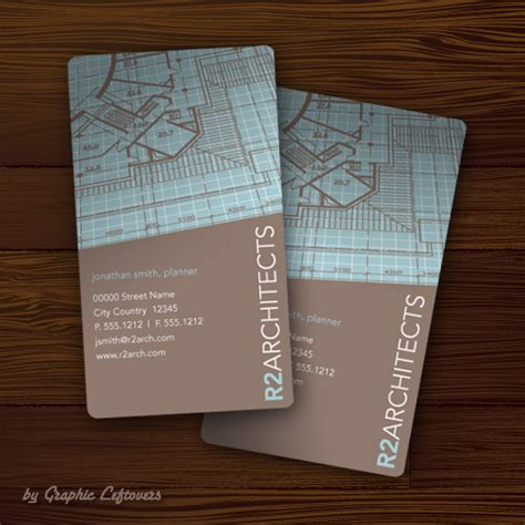 35 Architect Business Card Designs For Inspiration