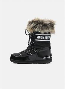 moon boot monaco low schwarz stiefeletten boots bei