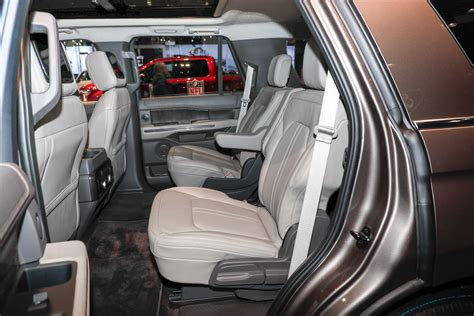 ford expedition interior 2018 ford expedition look review bigger but lighter