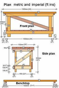 Woodworking Bench Plans Diy printable furniture templates