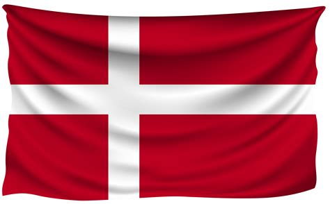 Also find a an outline flag of denmark for coloring enthusiasts of all ages. Denmark Wrinkled Flag | Gallery Yopriceville - High ...