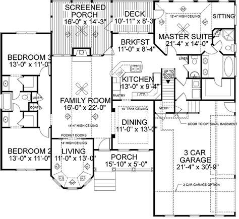 Marvelous Best House Plans #4 Best Ranch House Floor Plans