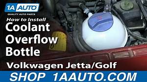 How To Install Replace Radiator Coolant Bottle 1999