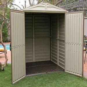 Abri De Jardin En Pvc : abri de jardin en pvc woodstyle premium 3 61m duramax ~ Edinachiropracticcenter.com Idées de Décoration