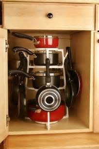 kitchen storage ideas for pots and pans 15 creative ideas to organize pots and pans storage on your kitchen shelterness