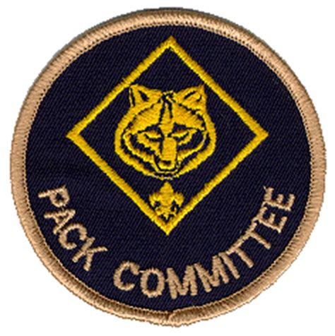 cub scout committee chair patch placement pack committee meeting agenda 171 cub scout pack 1776