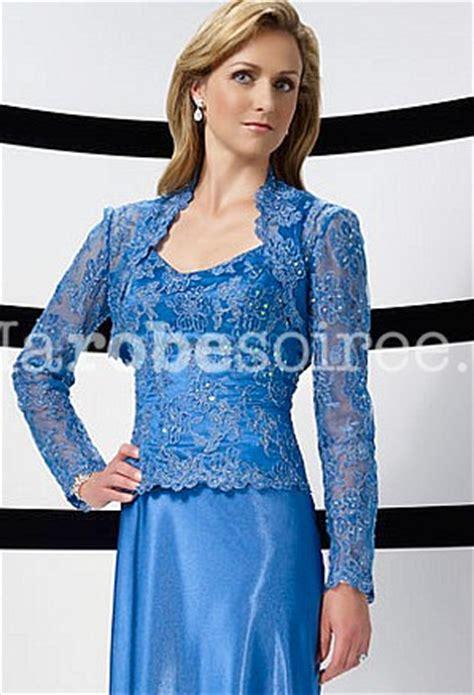 robe mere dela mariee pour mariage intime robe de m 232 re de la mari 233 e en dentelle et satin avec bol 233 ro