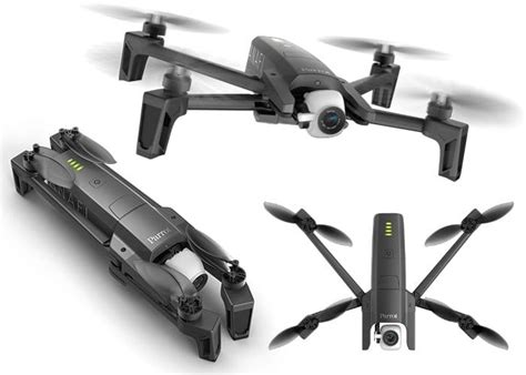 parrot anafi folding  drone geeky gadgets