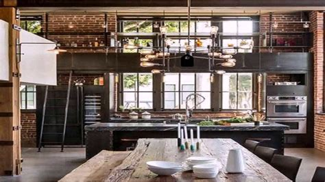 Industrial Home Style : Industrial Loft Style House Plans-youtube
