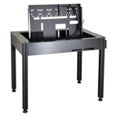 lian li dk q2x aluminum computer desk atx chassis 765354