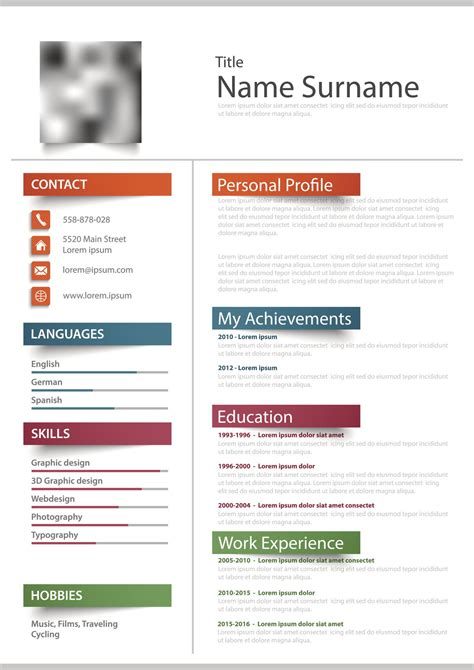 Cv Form Free by Blank Resume Forms Free Printable Resume Templates