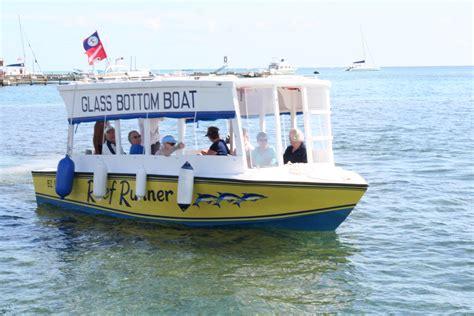Glass Bottom Boat Tours Belize glass bottom boat belize fishfinder