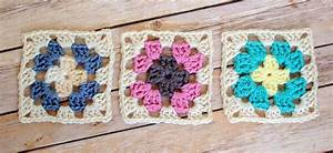 Granny Square Left Handed Crochet Stitch Diagram