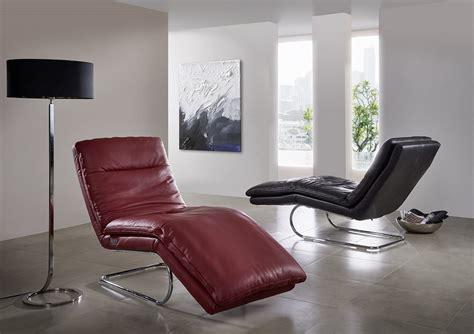 chaise longue cuir chaise longue relax absolute en cuir