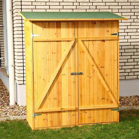 Gartenschrank  Gerätehaus Holz Geräteschuppen kaufen