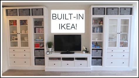 Ikea Hack Hemnes Bookcase by Ikea Hemnes Built In Hack Chris