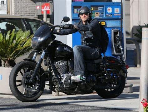 Charlie Hunnam Harley Davidson