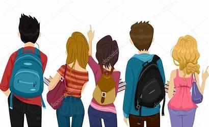 College Students Mahasiswa Studenti Clipart Shutterstock Boy