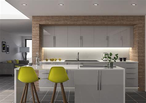 light grey kitchen ultragloss light grey kitchen doors made to measure from 3744
