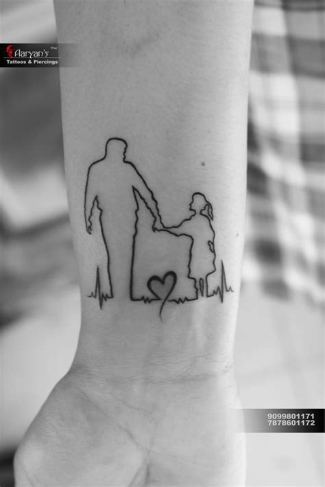 Father Daughter Tattoos   Tattoos for daughters, Father