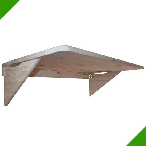 bureau murale rabattable 85cmx50cm table murale pliante murale rabattable en bois