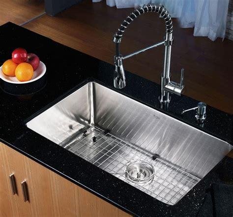 Ticor Vs Kraus Sinks by Kraus Khu10030 30 Inch Undermount Single Bowl Kitchen Sink