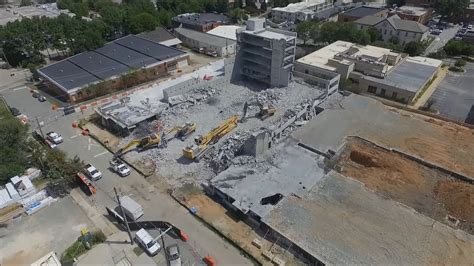 8/22/17 Metropolitan Fire Site via Drone YouTube
