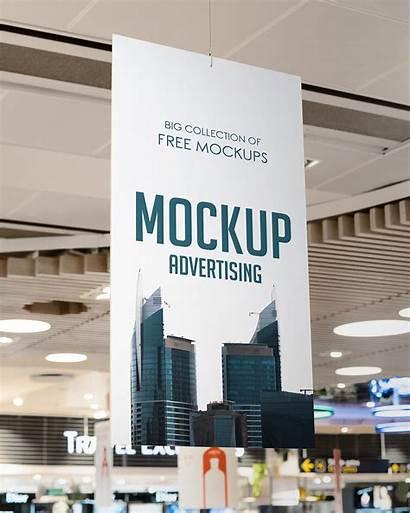 Supermarket Advertising Mockup Vertical
