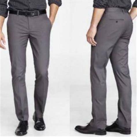 Celana Bahan Kain Slimfit jual pakaian murah celana bahan kantor formal model