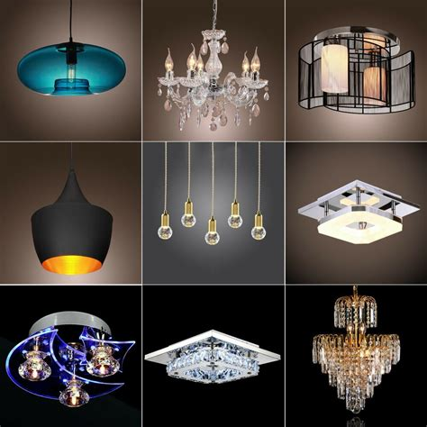 Chandelier Style Ceiling Lights by Modern Chandelier Ceiling Light Pendant L 9