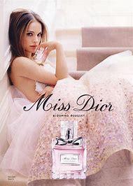 Natalie Portman Miss Dior Perfume