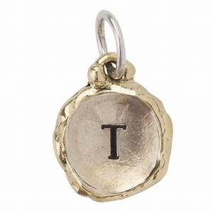 letter quottquot intra insignia charm by waxing poetic With waxing poetic letter charms