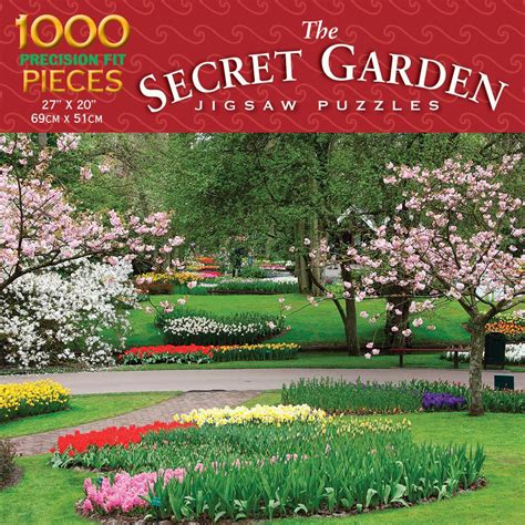 spring garden piece puzzle